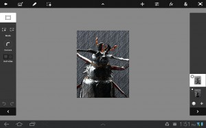 Photoshop Touch interface