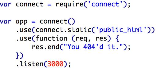 Server.js code