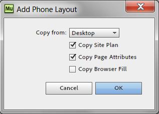 Creating phone layout