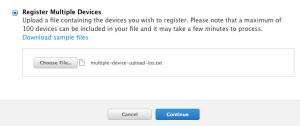 Register Multiple Devices