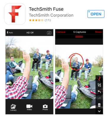 TechSmith Fise in the AppStore