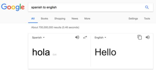 Translating phrases