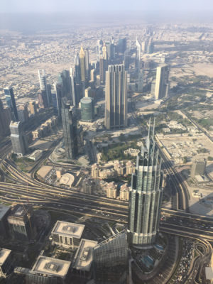 View from 555 meters makes other buildings look so small
