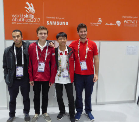 Competitor team group photo
