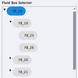 Fluid Box Selector