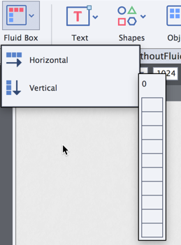 Fluid boxes can be either horizontal or vertical