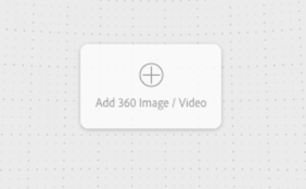You will be prompted to add a new 360 image or video on the fist slide